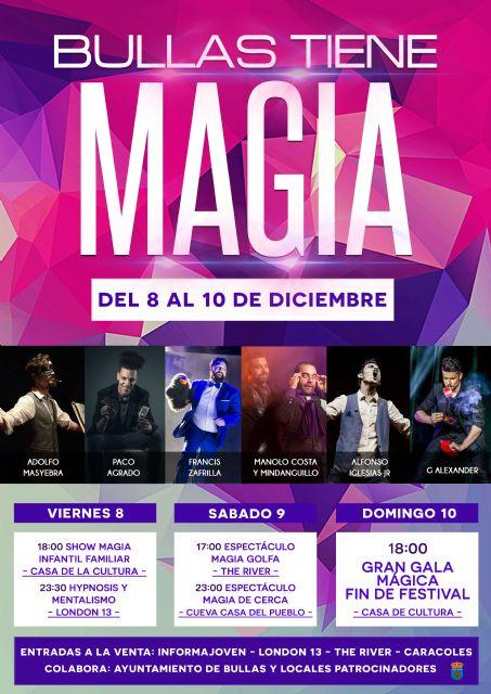 La magia envolverá Bullas del 8 al 10 de diciembre - 1, Foto 1