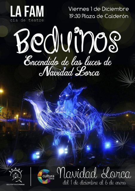 El espectáculo Beduinos protagonizará este viernes el tradicional encendido de las luces de Navidad a las 19.30 en la Plaza de Calderón - 1, Foto 1