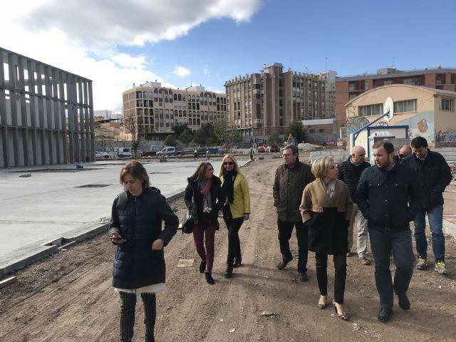 Las obras de mejora en los institutos Ibáñez Martín y Ros Giner de Lorca entran en la fase final - 1, Foto 1