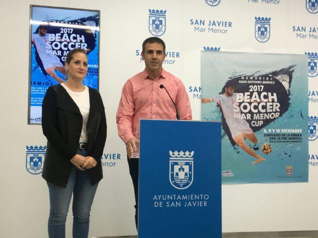 Equipos de Alemania, Francia, Polonia y las comunidades murciana y valenciana se disputarán el Beach Soccer Mar Menor Cup, en Santiago de la Ribera - 3, Foto 3