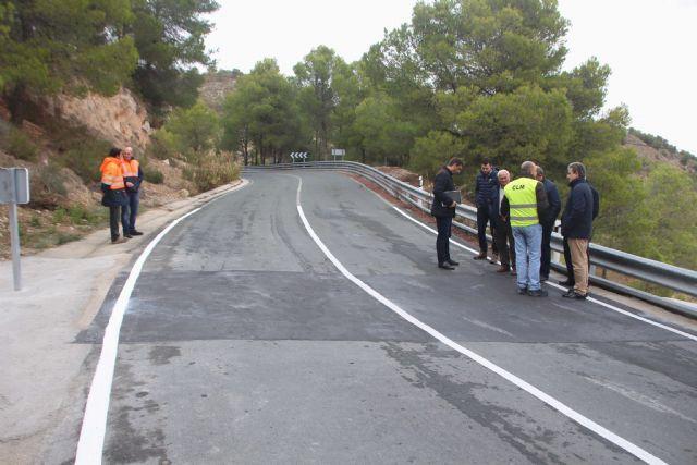 Fomento finaliza las obras de mejora de la carretera que une Alhama de Murcia con Pliego - 1, Foto 1