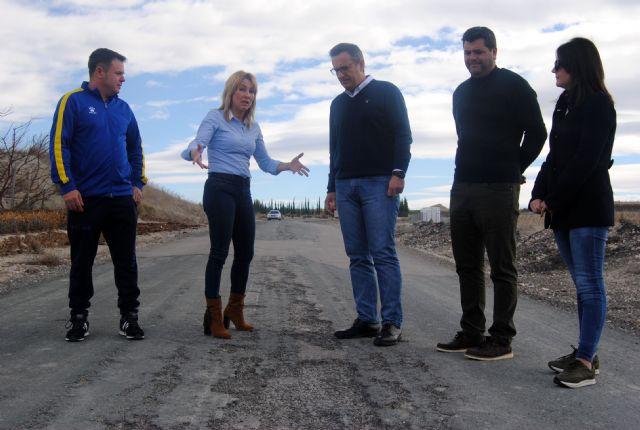 El PSOE de Campos del Río exige al PP que explique cuales son los problemas por los que no comienzan las obras de la carretera de Alguazas - 1, Foto 1