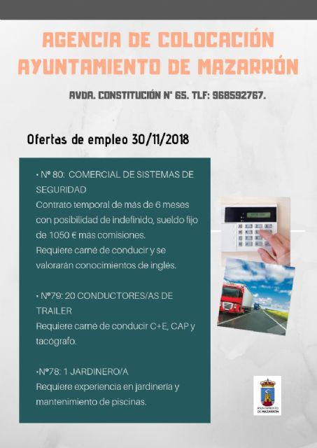 Nuevas ofertas de empleo de la agencia municipal, Foto 1
