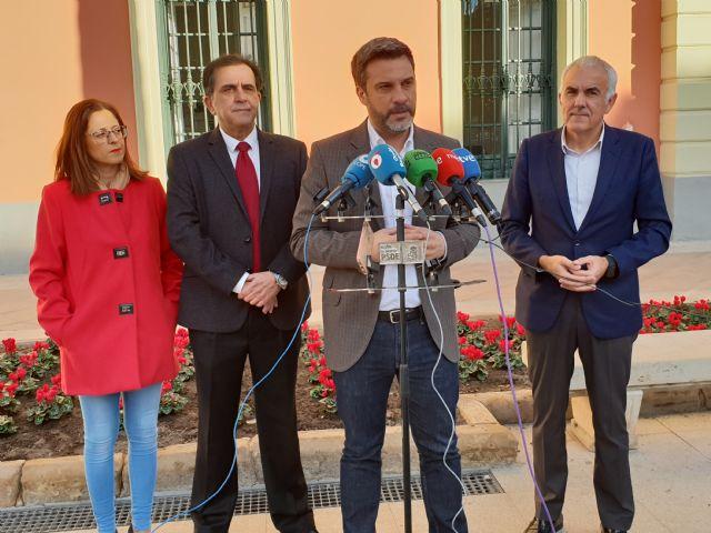 El PSOE denuncia la discriminación que sufre el municipio de Murcia por el pacto de la resignación del PP y Ciudadanos - 1, Foto 1