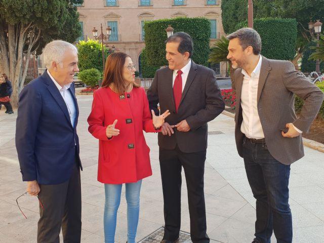 El PSOE denuncia la discriminación que sufre el municipio de Murcia por el pacto de la resignación del PP y Ciudadanos - 2, Foto 2