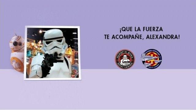 Las tropas imperiales con Darth Vader invaden Nueva Condomina para ayudar a Alexandra - 1, Foto 1