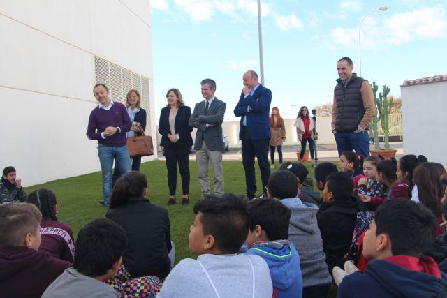 50 alumnos del CEIP La Asomada vistan la EDAR de San Pedro del Pinatar - 1, Foto 1