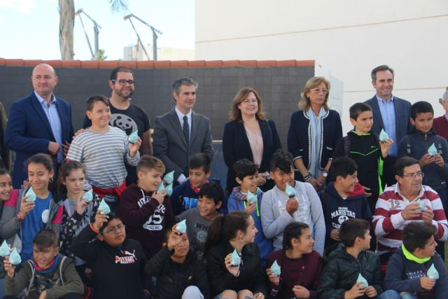 50 alumnos del CEIP La Asomada vistan la EDAR de San Pedro del Pinatar - 3, Foto 3