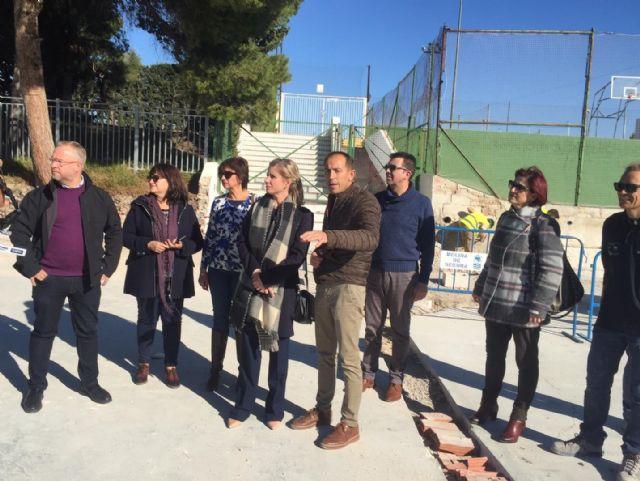 La Alcaldesa de Molina de Segura visita al alumnado del Programa Mixto de Empleo y Formación El Romeral 1 - 2, Foto 2