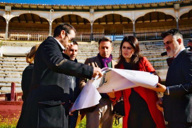 La Comunidad invertirá más de 1,7 millones en la recuperación de la Plaza de Toros de Lorca - 2, Foto 2