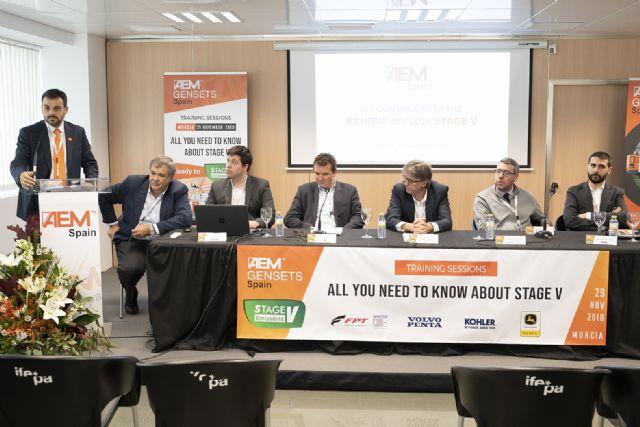 AEM Spain celebra con una gran acogida las jornadas sobre la normativa Stage V - 4, Foto 4