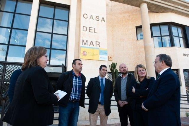 Iniciadas las obras para modificar la carretera del Alamillo en Mazarrón y poder dotar de más servicios a la playa, Foto 2