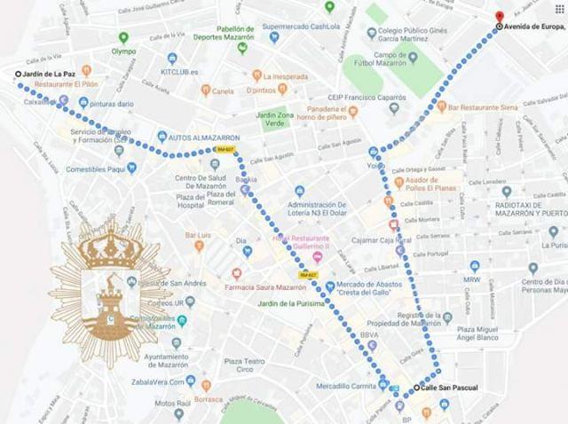 12 carrozas compondrán este domingo el desfile de las fiestas patronales, Foto 1