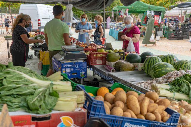 Las festividades de la Constitución y la Purísima no afectarán a los mercadillos semanales - 1, Foto 1