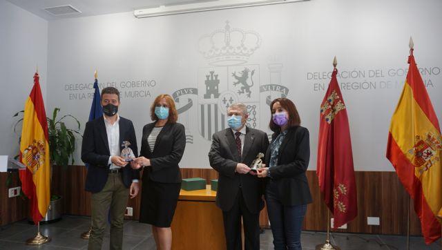 """La Delegación del Gobierno reconoce al Ayuntamiento de Blanca y a los """"héroes anónimos"""" con las Meninas 2020 - 1, Foto 1"""