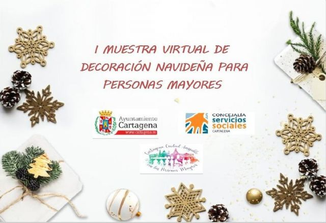 I Muestra virtual de decoración navideña para personas mayores - 1, Foto 1