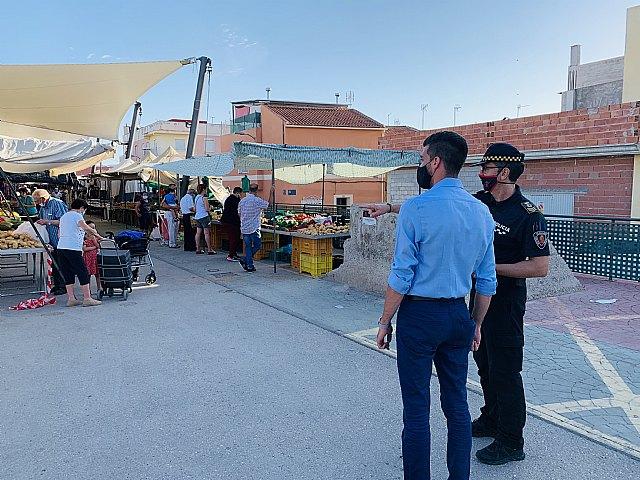 Abierto el plazo para solicitar autorización de venta en los mercados semanales de Alguazas - 1, Foto 1