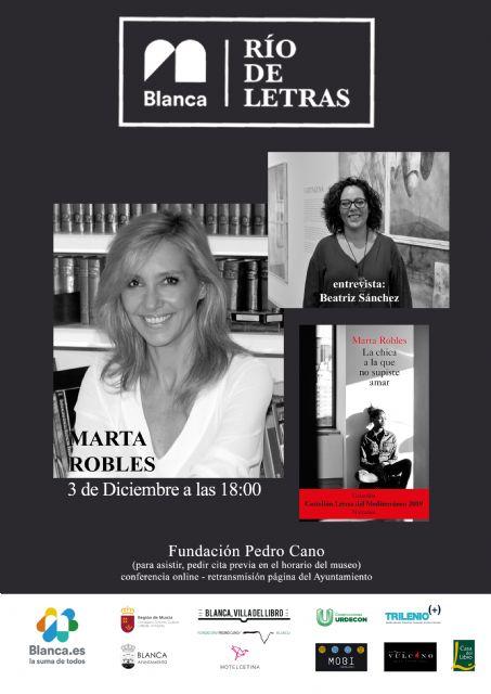 Marta Robles presenta La chica a la que no supiste amar en 'Río de Letras' - 1, Foto 1