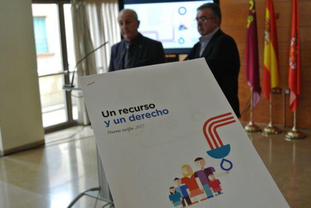 Las familias murcianas ahorran un 20% gracias a las nuevas tarifas del agua de 2017 - 1, Foto 1