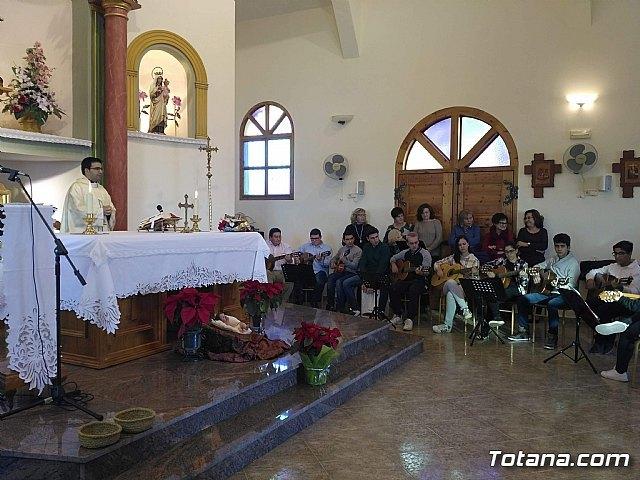 Lébor celebró una misa de Navidad, Foto 2