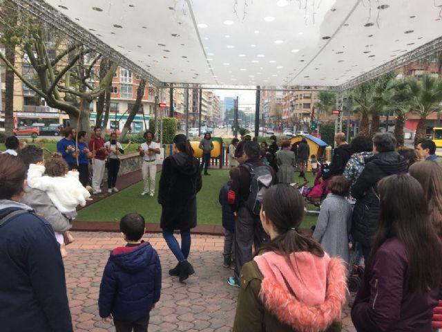 La plaza Circular estrena el programa de actividades que se desarrollará en 2019 en los parques y jardines de Murcia - 1, Foto 1