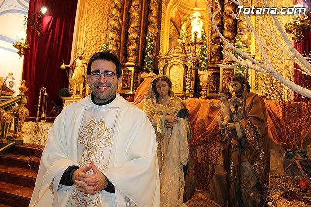 Javier Conesa will be the new parish priest of Aledo - 1