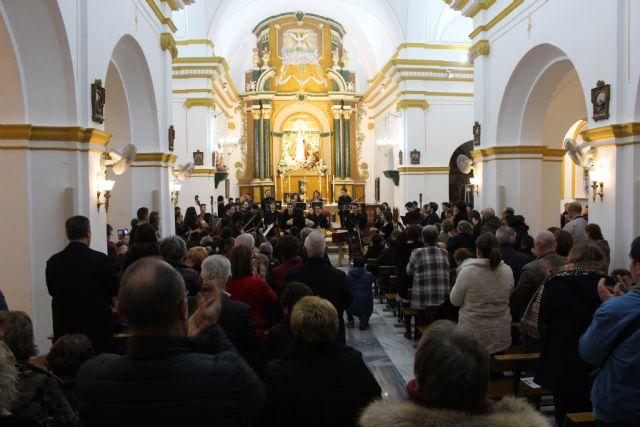 Más de 300 lumbrerenses disfrutan del concierto de Navidad de la Orquesta de Jóvenes de la Región de Murcia - 5, Foto 5
