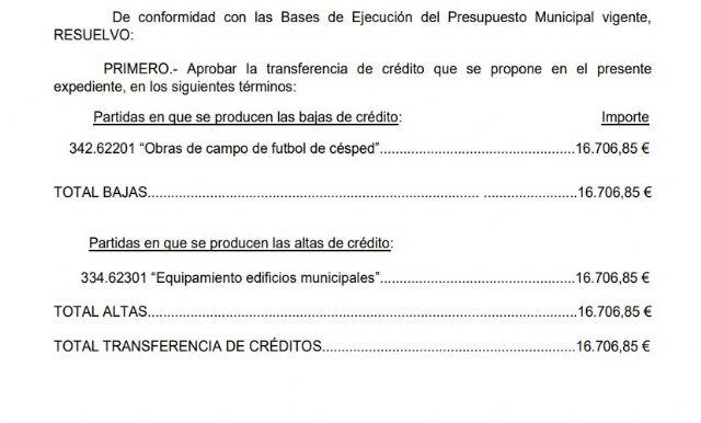 El PP denuncia que el alcalde se gasta cerca de 18.000 euros en acondicionar su despacho cuando es totalmente innecesario - 1, Foto 1