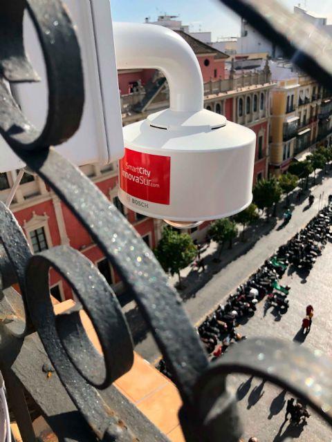 Las andaluzas InnovaSur y Axión contribuyen a evitar aglomeraciones durante Navidad en Sevilla a través de soluciones de inteligencia artificial para el control de aforo - 2, Foto 2