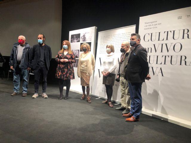 La Comunidad lanza la campaña ´Mantengamos con vida lo que nos mantiene vivos´ de apoyo al sector cultural - 1, Foto 1