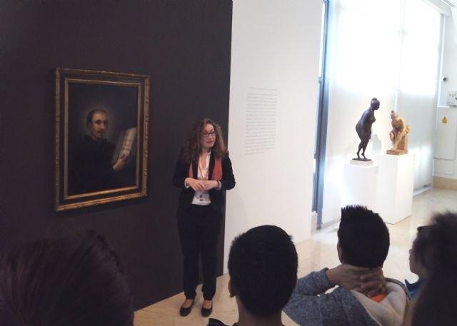 Última semana para ver el cuadro de Goya ´San Ignacio de Loyola´ expuesto en el Museo de Bellas Artes de Murcia - 1, Foto 1