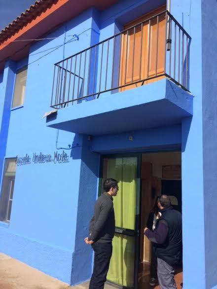 Realizan trabajos de repintado de la fachada del Colegio de Lébor y otras actuaciones similares en otros centros educativos del municipio - 2, Foto 2