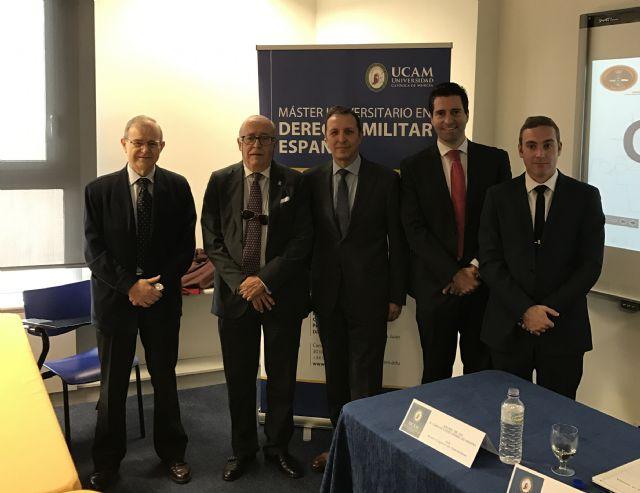 Charlas: máster derecho militar español de la ucam - 1, Foto 1
