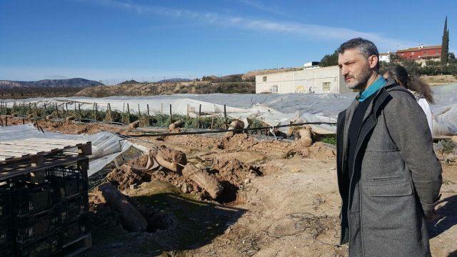 Podemos solicitará que las pedanías de Canara y Valentín se declaren zonas catastróficas - 1, Foto 1