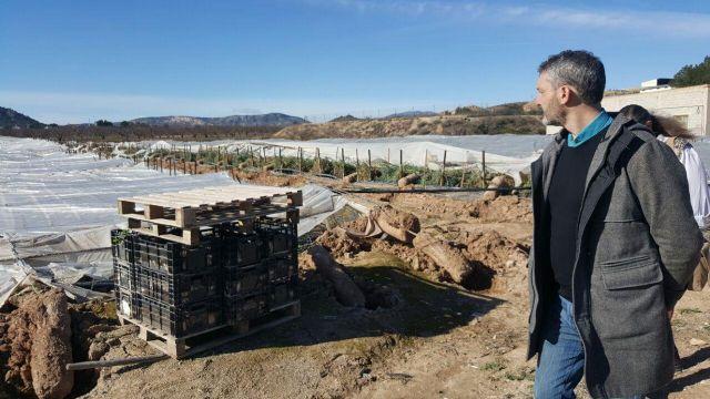 Podemos solicitará que las pedanías de Canara y Valentín se declaren zonas catastróficas - 2, Foto 2