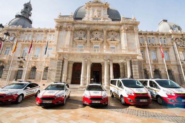 Cartagena cuenta con cinco nuevos vehiculos de Policia Local - 1, Foto 1