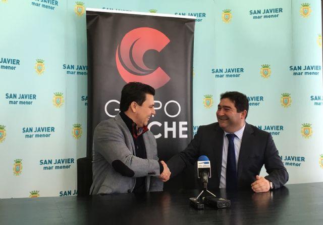 El Grupo Corporativo Caliche confirma su permanencia en el municipio y el traslado de su sede central con 400 trabajadores a la población de San Javier - 1, Foto 1