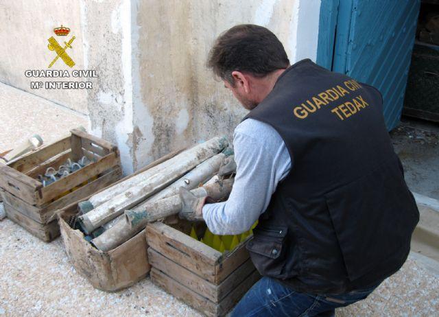 La Guardia Civil ha destruido el triple de artefactos explosivos que el año anterior - 1, Foto 1