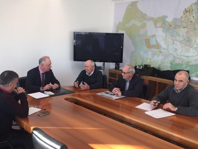 Urbanismo y la Junta de Hacendados revisan proyectos en marcha dentro del Plan de Recuperación de la Huerta - 1, Foto 1