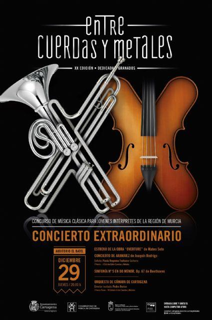 Casi 200 jovenes musicos se inscriben en la XX edicion de Entre cuerdas y metales - 1, Foto 1