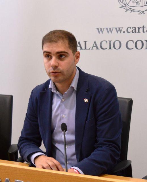 Ricardo Segado lamenta el abandono del PP regional a la Catedral de Cartagena, esta vez en referencia al 1% Cultural - 1, Foto 1