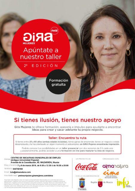 La fundación Coca Cola despliega en Mazarrón su proyecto Gira Mujeres - 1, Foto 1