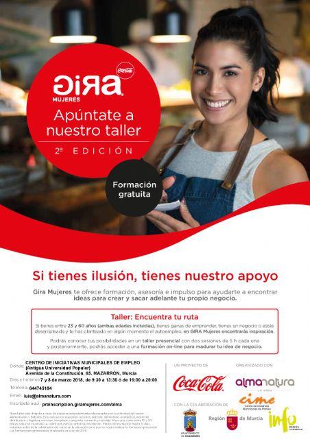 La fundación Coca Cola despliega en Mazarrón su proyecto Gira Mujeres - 2, Foto 2