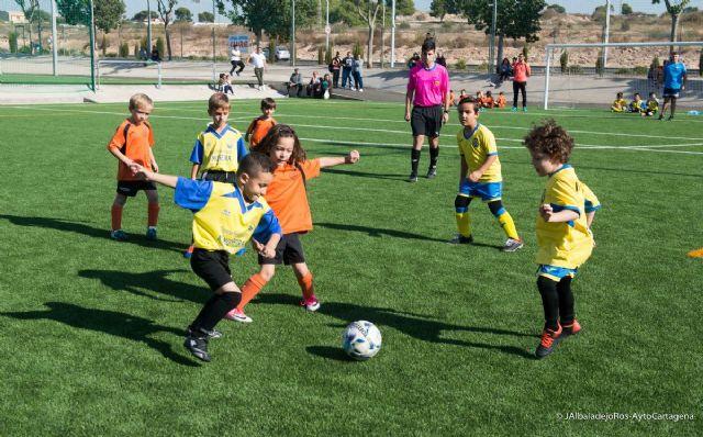 Publicados los horarios de la jornada trece de la Liga Comarcal de Futbol Base - 1, Foto 1