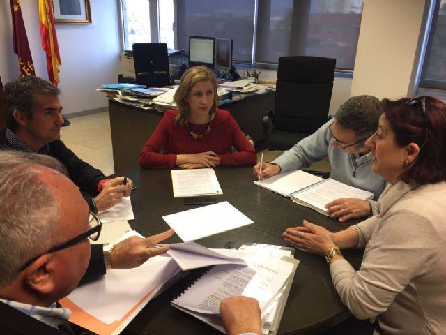La Alcaldesa de Molina de Segura se reúne con el Director General del Agua para tratar los problemas de saneamiento del municipio - 1, Foto 1