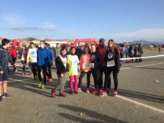 50 escolares de Torre-Pacheco participan en la Final Regional Campo a través, en Puerto Lumbreras - 1, Foto 1