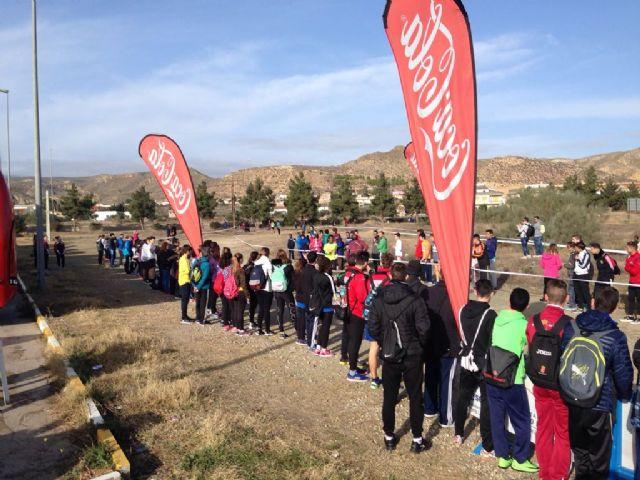 50 escolares de Torre-Pacheco participan en la Final Regional Campo a través, en Puerto Lumbreras - 2, Foto 2