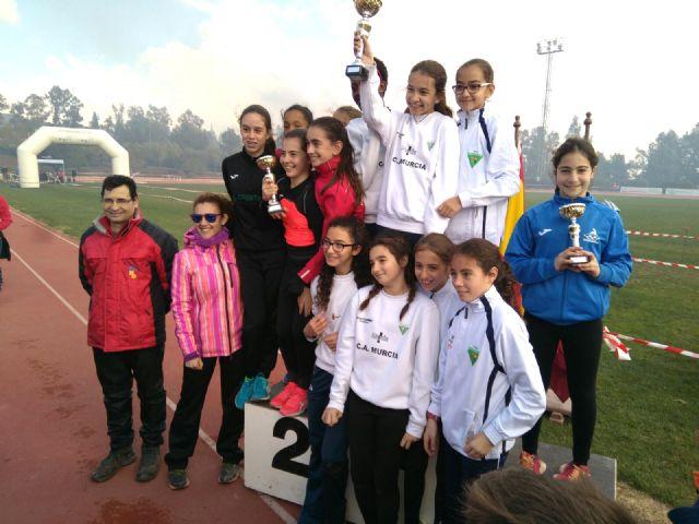 El Club Atletismo Alhama presente en la Quinta Jornada de Cross FAMU, Foto 1