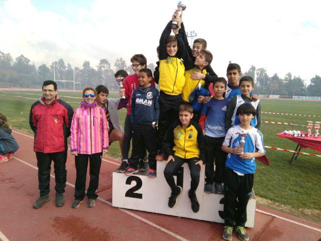 El Club Atletismo Alhama presente en la Quinta Jornada de Cross FAMU, Foto 2