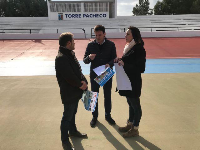 El Campeonato Regional de Pista 2018 se celebra en Torre-Pacheco - 2, Foto 2